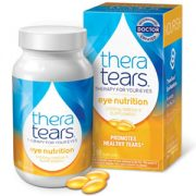TheraTears Omega-3 Supplement 1200mg box and bottle