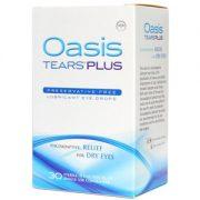 oasis tears plus 30 count box