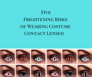 5 Risks of Wearing Costume Contact Lenses